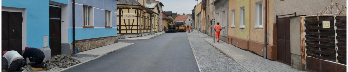 Nové povrchy v ulici Štefánikova