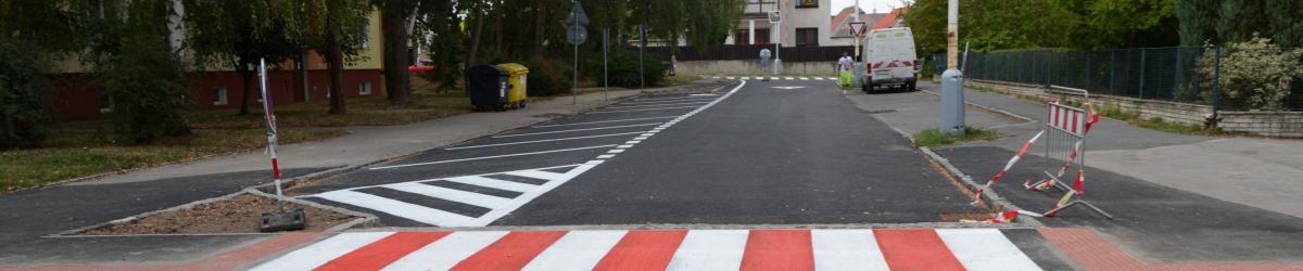 Zrekonstruovaná ulice Brjanská