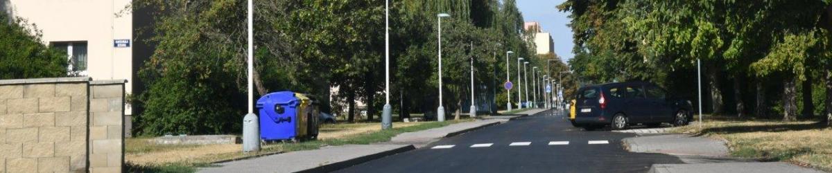 Zrekonstruovaná ulice Moskevská