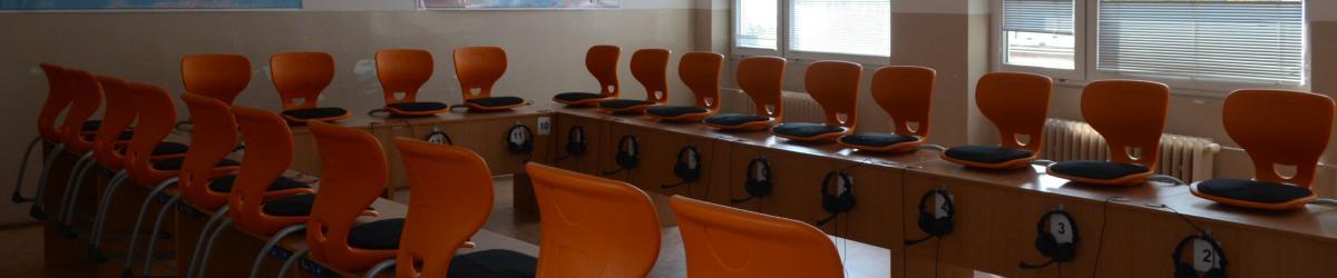 Učebny a zázemí v ZŠ Brjanská