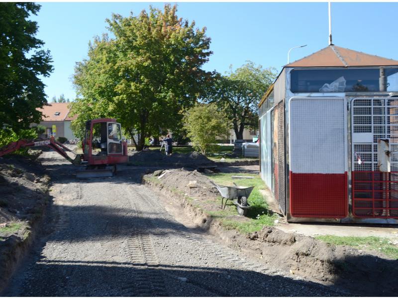 Ulice Vítězná a Doberská - úprava veřejného prostranství