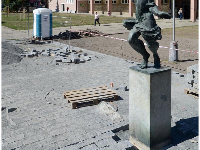 Úprava veřejného prostoru v lokalitě U Hvězdy