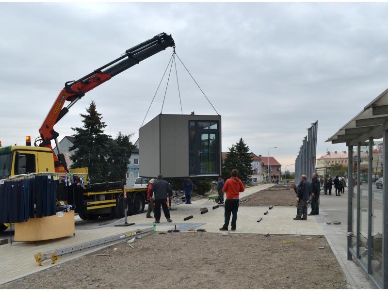 Úpravy na náměstí Svobody