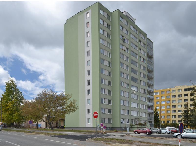 Stavba napojení ulice Norská na ulici Americkou