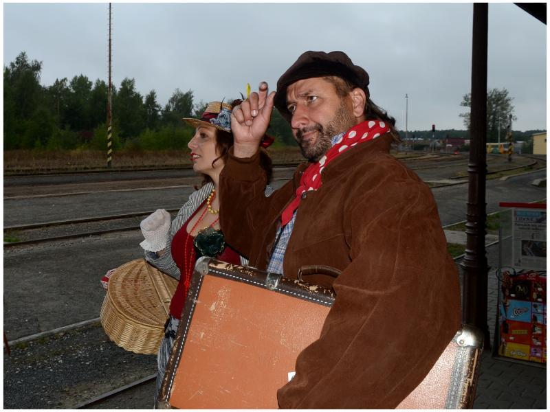 Cesta za TGM - vyhlídková jízda zážitkovým vlakem