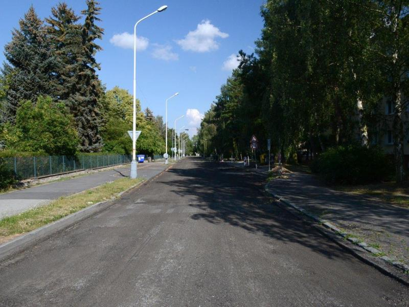 Rekonstrukce ulice Brjanská