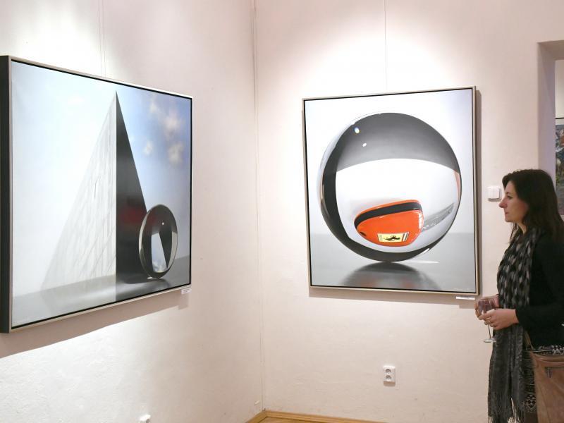 Výstava Nového sdružení pražských umělců v Galerii Kladenského zámku