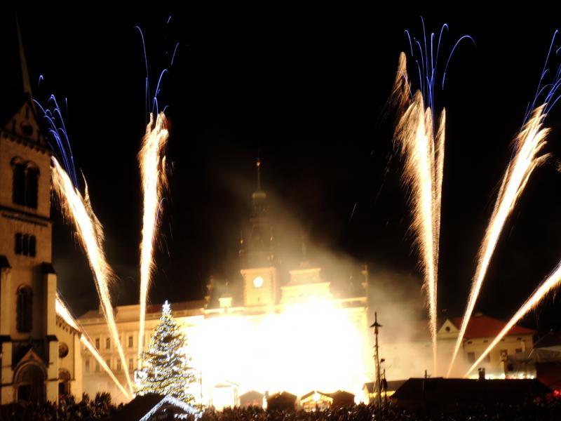Novoroční ohňostroj