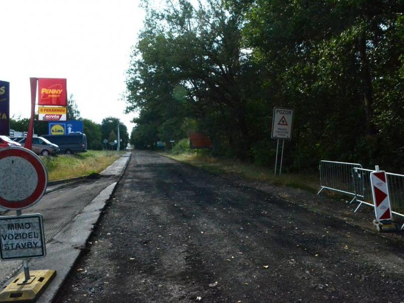 Rekonstrukce ulice Pražská - II. etapa