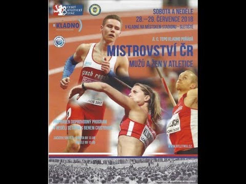 Embedded thumbnail for Mistrovství České republiky v atletice na Sletišti