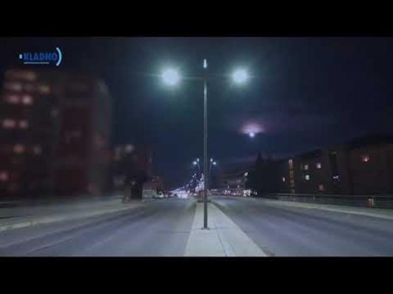 Embedded thumbnail for Noční pohled na třídy ČSA a Vítězná