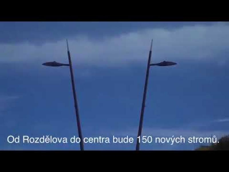 Embedded thumbnail for Bulvár Vítězná a ČSA