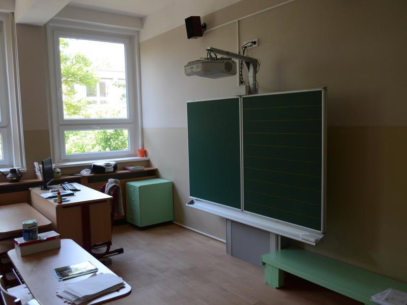Rekonstrukce třídy v ulici Vodárenská 2115